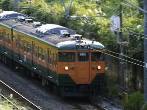 東海道線トリミング
